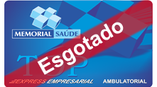 Carteirinha Express Empresarial Ambulatorial - Esgotado
