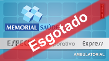 Carteirinha Especial Corporativo Express Ambulatorial - Esgotado